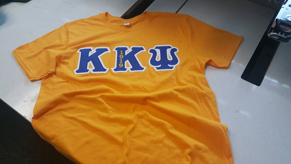 Custom Greek Shirts and Apparel