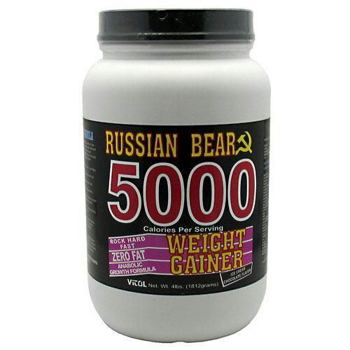 VITOL RUSSIAN BEAR 5000 WEIGHT GAINER CHOCOLATE ICE CREAM