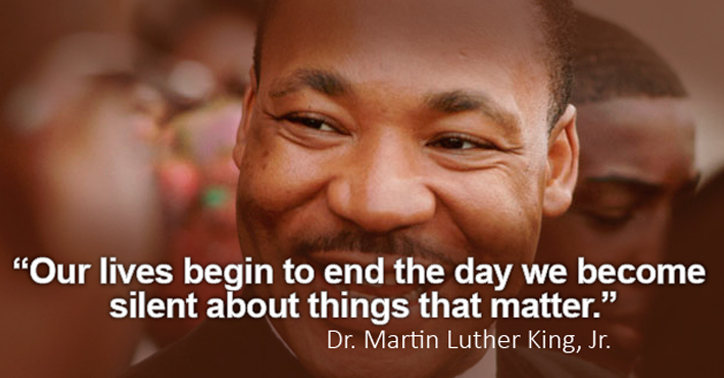 Martin Luther King's Birthday - Monday, Jan. 19, 2015